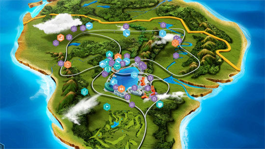 Jurassic Site Map