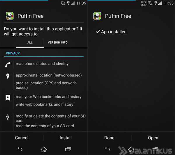 Puffin Browser 1