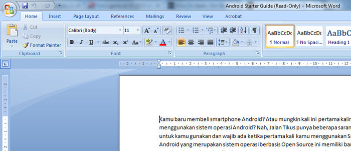 Cara Buka File Ms Word Read Only 3