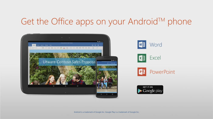 Download Ms Word Excel Powerpoint Free Gratis Di Android