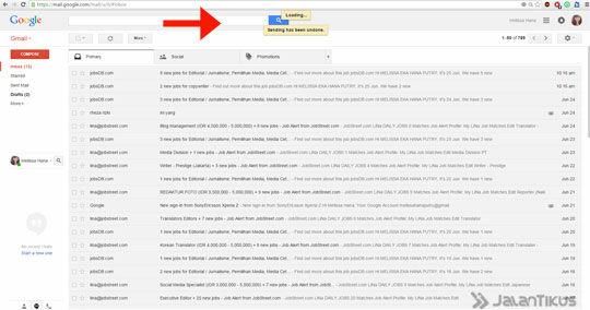 Gmail Undo Send 6
