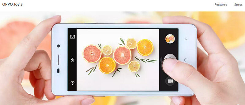 Oppo Joy 3 Terbaru Dari Oppo Smartphone Mid 1