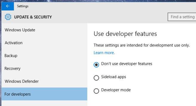 Cara Mengaktifkan Developer Mode Di Windows 10 1