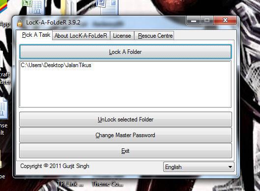 Cara Mengunci Folder Di Pc Lock A Folder 4
