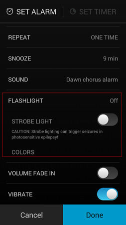 Cara Pakai Alarm Clock Android 3