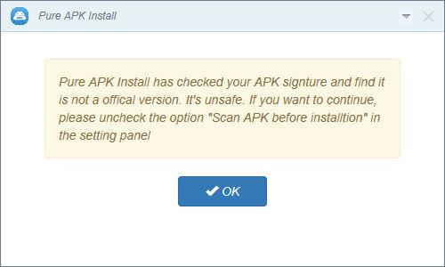 Cara Install Apk Android Bebas Malware 4