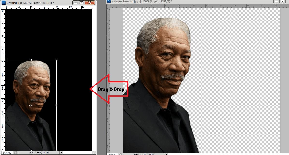 Photoshop Drag Drop