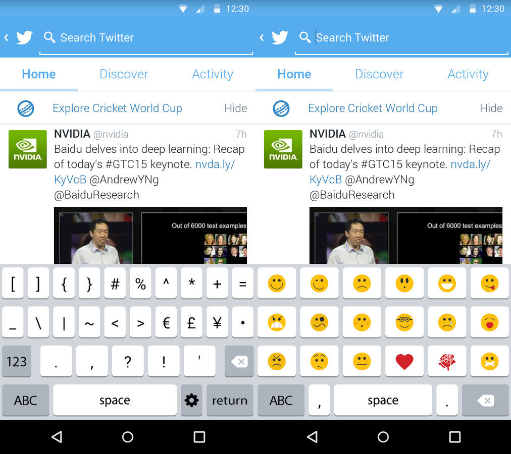 ... Keyboard. Download Apple Keyboard dan install seperti biasa di Android