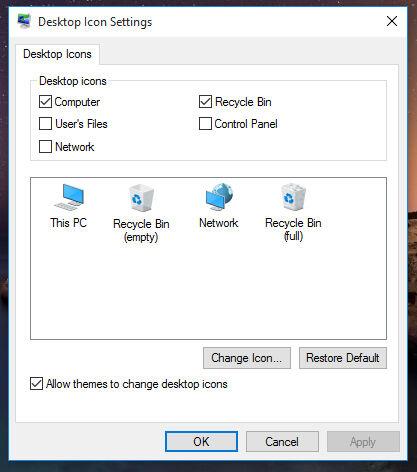Cara Menambahkan Recycle Bin This Pc Desktop Windows 10 2