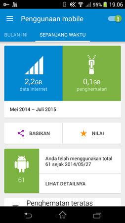 Pertama, Download dan install aplikasi android Opera Max - Data Saving di HP kesayangan kamu :v /.