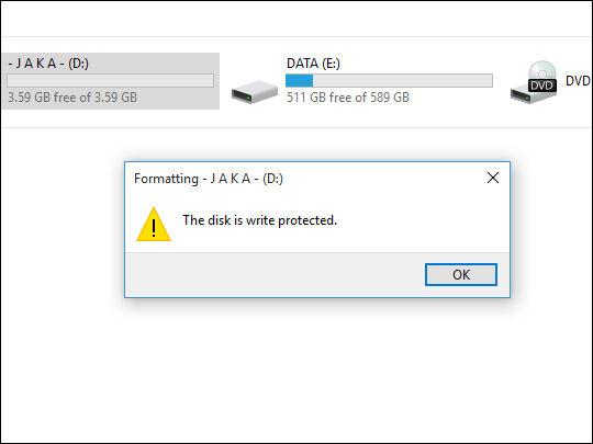 Cara Format Flashdisk Write Protected Dengan Software