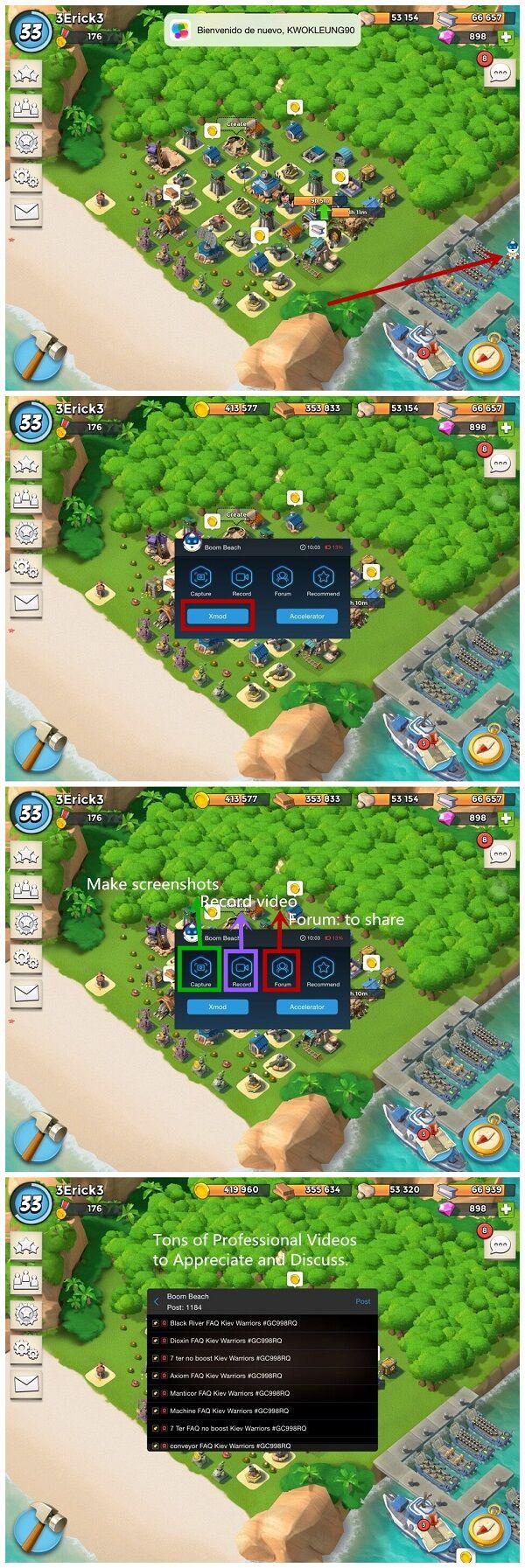 Mod Boom Beach Xmodgames 2
