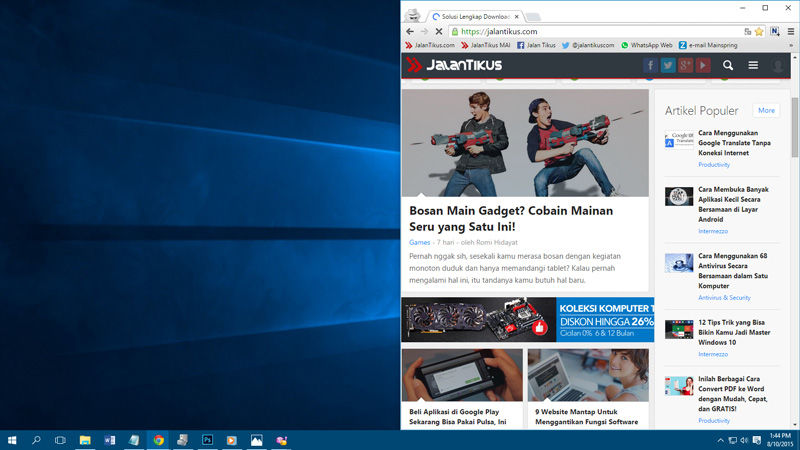 Shortcut Keyboard Windows 10 1 1