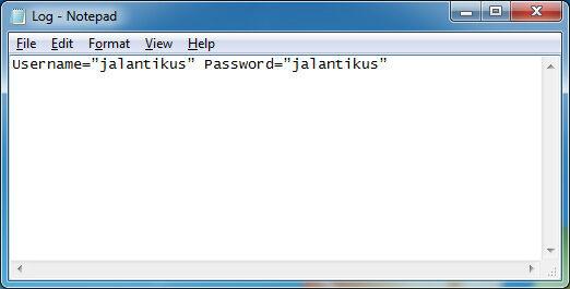Cara Membuat Keylogger Pakai Notepad 5