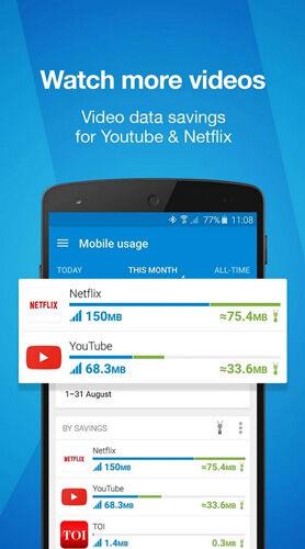 Untuk HP atau Platform Gadged lainnya, bisa menggunakan aplikasi bernama Opera Max - Data Saving.
