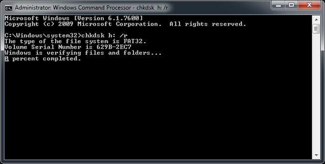 Cara Recover File Dari Flashdisk Rusak 4