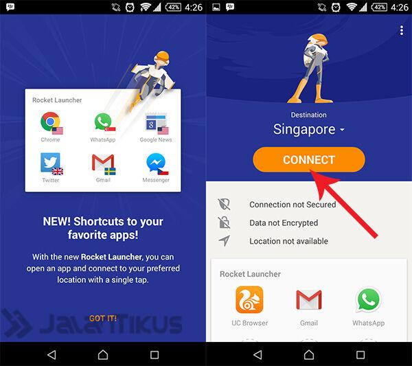 Cara Buka Situs diblokir di Android Tanpa Root 1