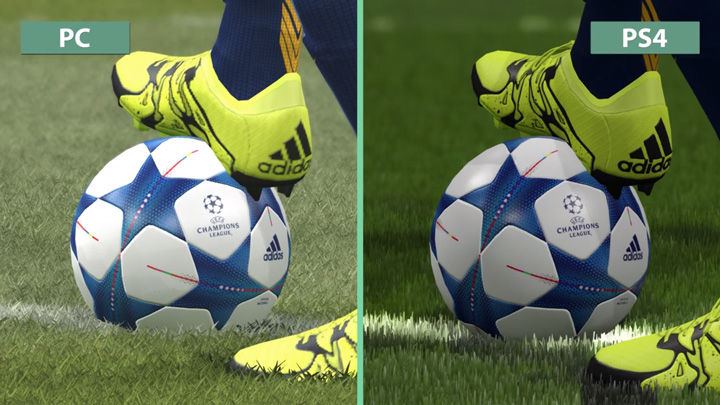 Grafis Pes 2016 Pc Vs Ps4 1
