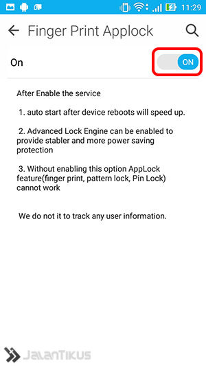 fingerprint applock 6