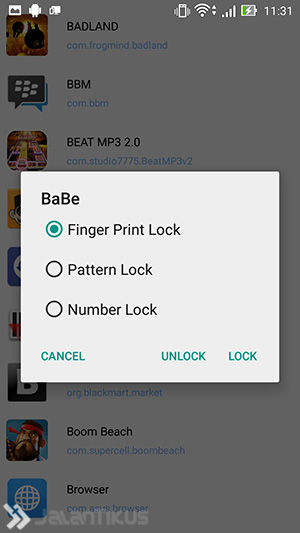fingerprint applock 7