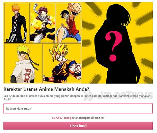 Karakter Anime Mana Kamu
