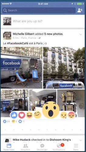 Facebook Emoji Ganti Tombol Dislike 2