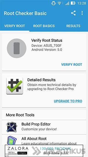 Cek Root 1