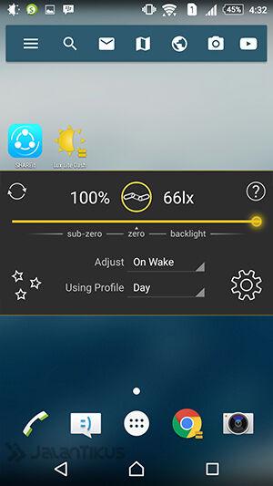 Membuat Layar Android Jadi Sangat Gelap 2