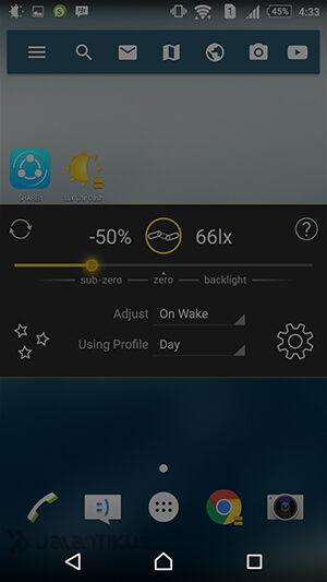 Membuat Layar Android Jadi Sangat Gelap 3