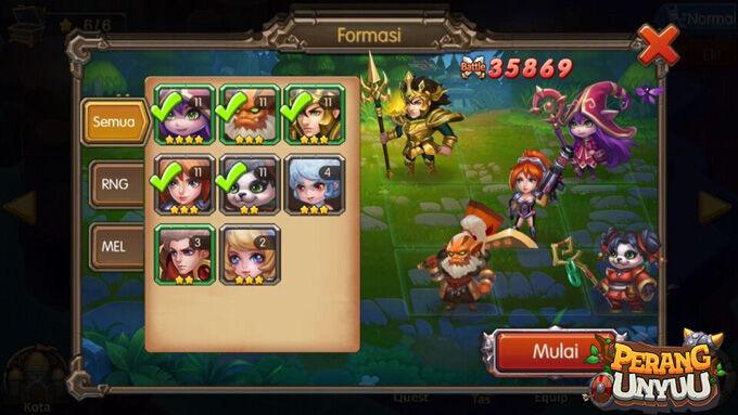Perang Unyuu Game Moba Dan Action Rpg Terbaru 3