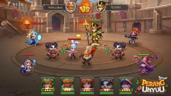 Perang Unyuu Game Moba Dan Action Rpg Terbaru 4