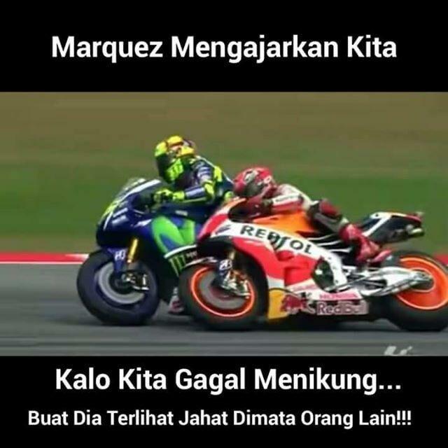 Meme Lucu Rossi Marquez 1