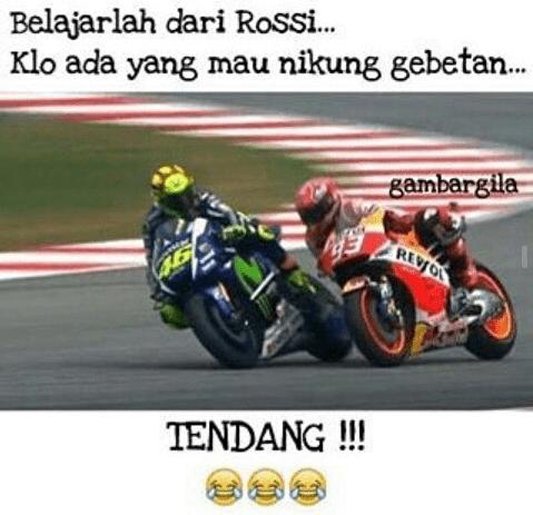 Meme Lucu Rossi Marquez 12