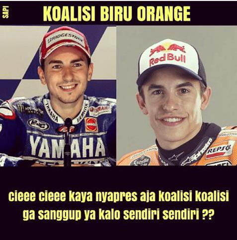 Meme Lucu Rossi Marquez 22
