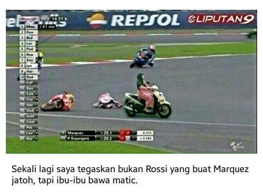 Meme Lucu Rossi Marquez 9