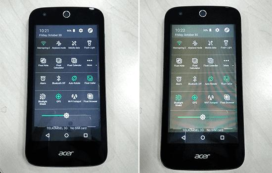 Acer Liquid Screen