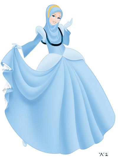 Karakter Disney Berhijab 2