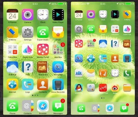 Cara Menikmati apple iOS 7 di Android-1