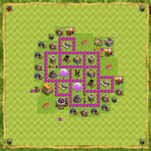 Base Farming Coc Th 6 13