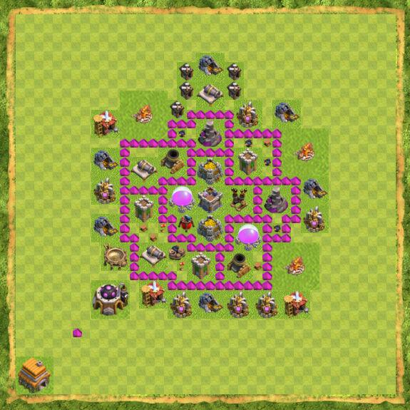 Base Farming Coc Th 6 23