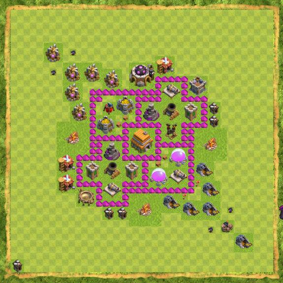 Base War Coc Th 6 2