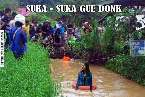 Meme Suka Suka Gue Dong Perusak Taman Bunga Amarillys 33