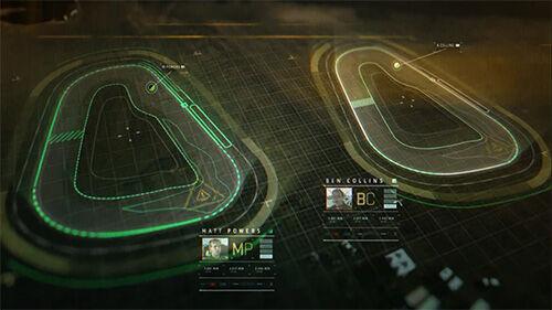 Virtual Reality Race 1