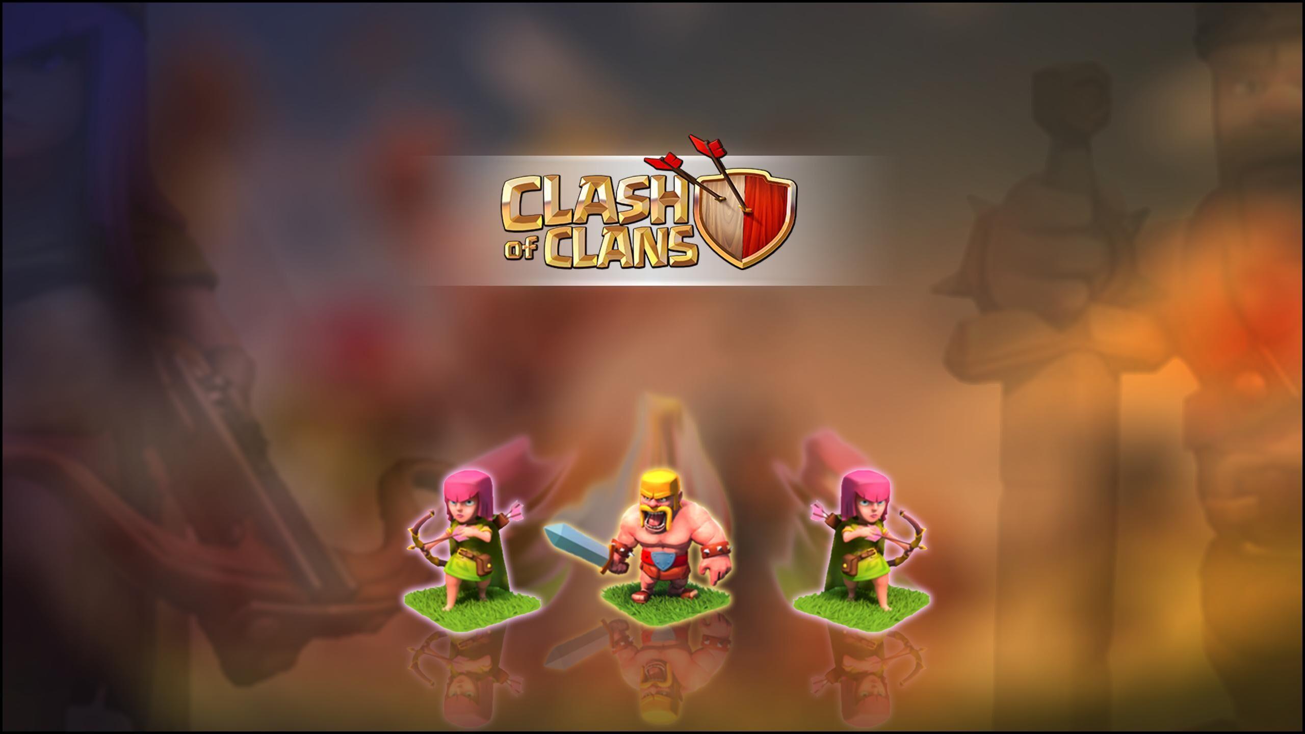 60 Wallpaper HD Android Clash Of Clans COC Terbaru Part 1