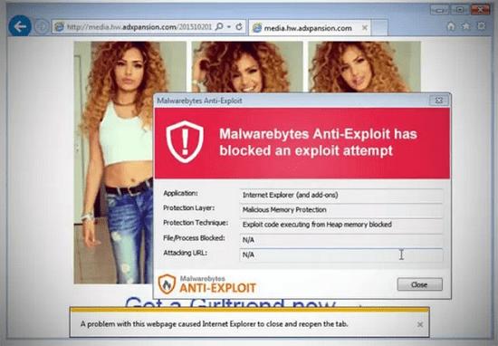 Situs dewasa ini terinfeksi malware 3
