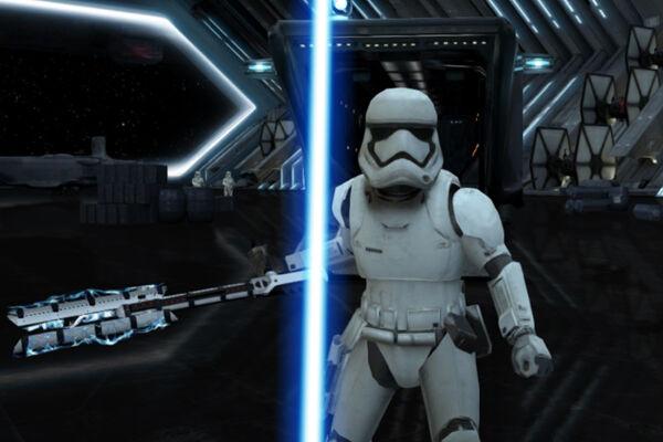 Ayo BANTAI Stormtrooper Dengan Ayunan Android Kamu Di Game