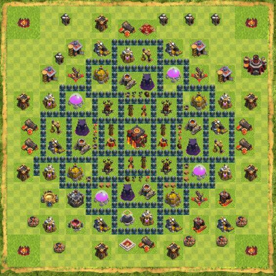 Base War Coc Th 10 14