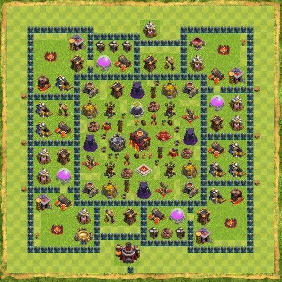Base War Coc Th 10 4