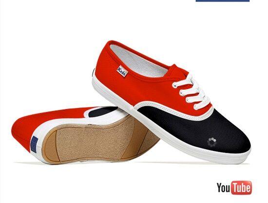 Keren! 22 Desain Sepatu Sneaker Ini Tentang Sosial Media dan Teknologi ...