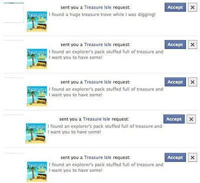 Facebook Gift Requests Sama